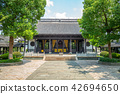 facade view of the temple of general wu in wuzhen 42694650