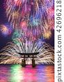 Miyajima underwater fireworks display 42696218