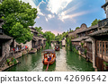 landscape of wuzhen,  a historic scenic town 42696542