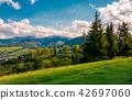 countryside, mountain, panorama 42697060