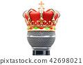 microphone golden crown 42698021