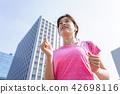Running ladies 42698116