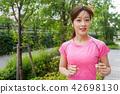 Running ladies 42698130