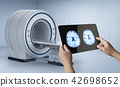 x-ray brain with mri scan 42698652