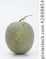 Fresh Melon on the white background 42698854