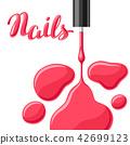 nail, manicure, polish 42699123