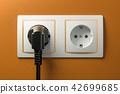 electrical, socket, plug 42699685