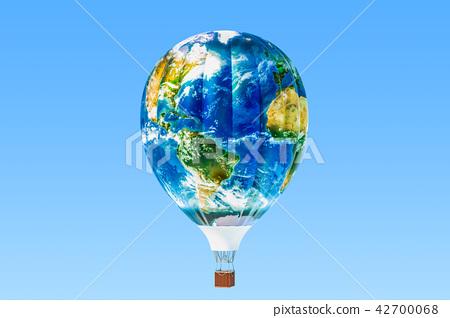 Travel concept. Hot air balloon 42700068