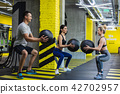 fitness, ball, group 42702957