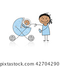 baby, buggy, child 42704290