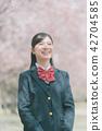 高中生 春天 春 42704585