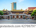 jingan temple, a Buddhist temple in Shanghai, 42706797