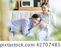 คู่รักครอบครัวหญิงตั้งครรภ์ 42707483