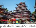 Tienyu Building in yu garden, shanghai, china 42707846