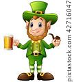 beard, beer, leprechaun 42716047