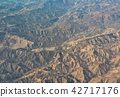 aerial view of California San Andreas 42717176