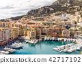 Monaco Fontvieille cityscape 42717192
