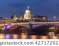 London St paul cathedral sunset 42717202