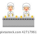 职业线工人男人和女人 42717961