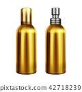 Perfume spray metallic bottle vector illustration 42718239