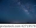 從阿蘇山的銀河系 42719578