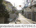 residential area, city, town 42720415