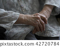 aged, elderly, senior citizen 42720784