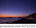 시치리가하마, 시치리가 해변, 황혼 42722392