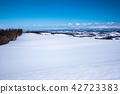 白雪皚皚 雪景 寒冬 42723383