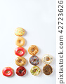 colorful donuts 42723626