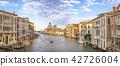 Venice panorama city skyline at Grand Canal, Italy 42726004