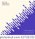 Abstract of  purple stripe lines for business  42726192