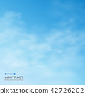 Abstract of blue sky with clouds background. 42726202