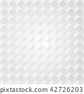 Abstract of pattern of grey square gradient  42726203