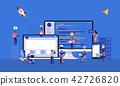 Vector illustrations design concept. 42726820