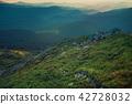 Mountain sunset landscape 42728032