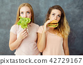 food, eating, woman 42729167
