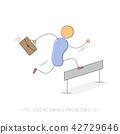 vector race runner 42729646