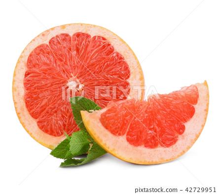 grapefruit isolated on white background  42729951