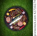 ปลา,บาร์บีคิว,บาบีคิว 42730274