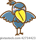 鯨頭鸛 鳥兒 鳥 42734423