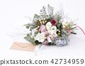 꽃다발과 편지 42734959