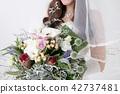 有花束的新娘 42737481