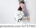 有花束的新娘 42737483