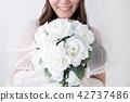 有花束的新娘 42737486