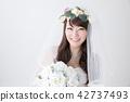 有花束的新娘 42737493