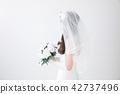 有花束的新娘 42737496