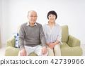 elderly, couple, old 42739966