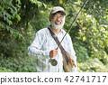 釣魚 漁夫 捕魚 42741717