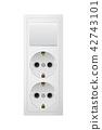 outlet, electric, socket 42743101